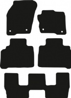 Ford S-Max 2015 - Onwards (7 Seat)(MK2) Floor Mats product image