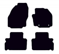 Ford S-Max 2006 - 2011 (Oval Locators)(5-seater)(MK1) Fitted Car Floor Mats product image