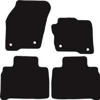 Ford S-Max 2015 - Onwards (5-seater)(MK2) Fitted Car Floor Mats product image