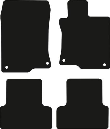 Honda Accord 2008 - Onwards (4 locators)(MK8) Fitted Car Floor Mats product image