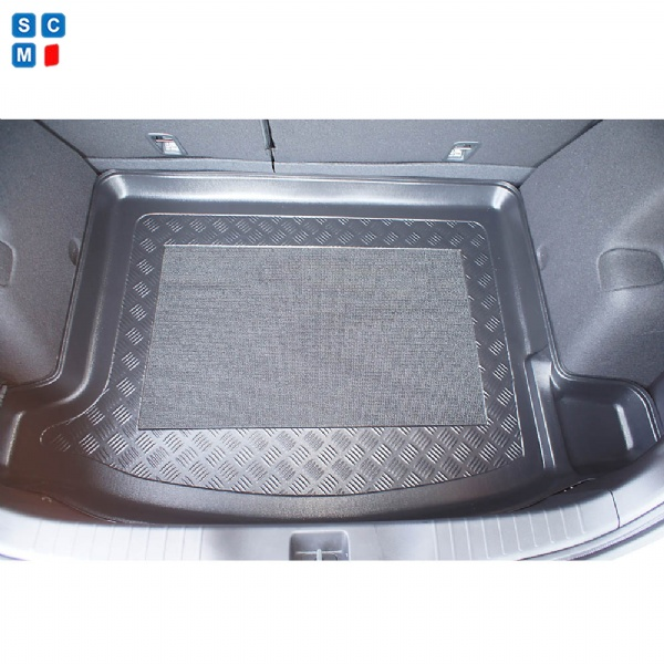 Honda Civic (IX) Hatchback 5 door (Mar 2012 to 2017) Moulded Boot Mat image 2