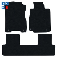 Honda CR-V 2012 - 2018 (Manual)(MK4) Fitted Car Floor Mats product image