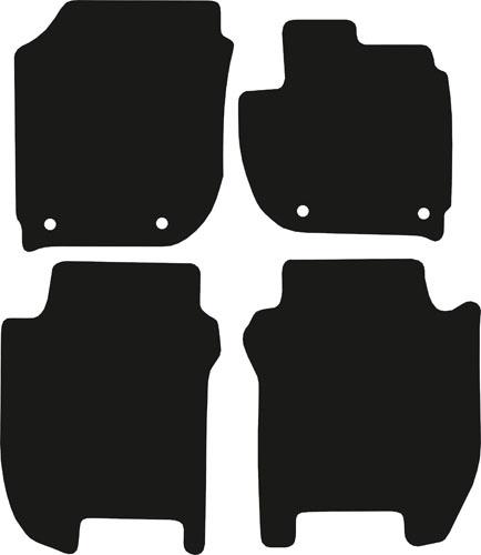 Honda Jazz 2015 - 2020 (Mk3) (Four Locators) Fitted Car Floor Mats product image