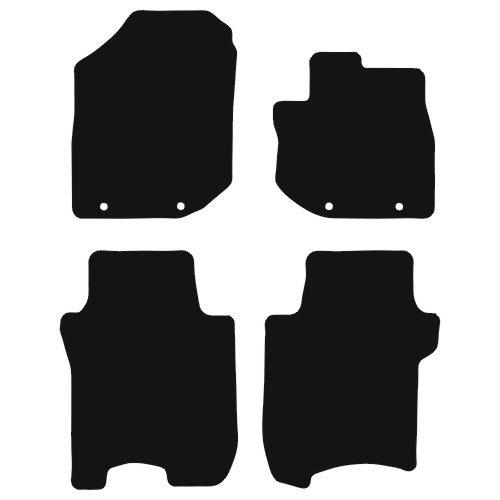 Honda Jazz 2008 - 2012 (Mk2) (Four locators) Fitted Car Floor Mats product image