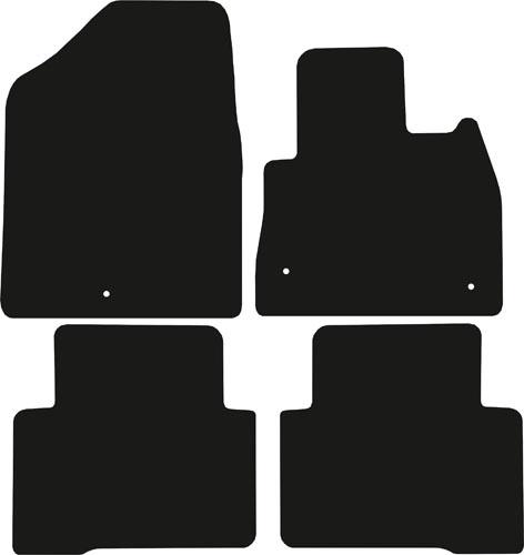 Hyundai Santa Fe 2012 - 2018 (5 Seat) Fitted Car Floor Mats product image