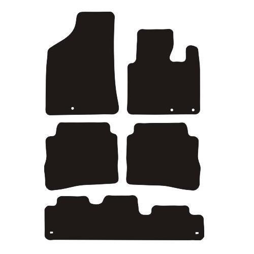 Hyundai Santa Fe 2010 - 2012 (7 Seat) Fitted Car Floor Mats product image