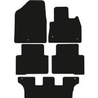 Hyundai Santa Fe 2012 - 2018 (7 Seat) Fitted Car Floor Mats product image