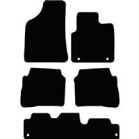 Hyundai Santa Fe 2006 - 2010 (7 Seats) Fitted Car Floor Mats product image