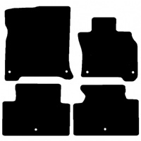 Infiniti M 2011 Onwards Fitted Car Floor Mats product image