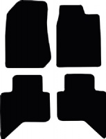 Isuzu D-Max 2011 - Onwards Floor Mats product image