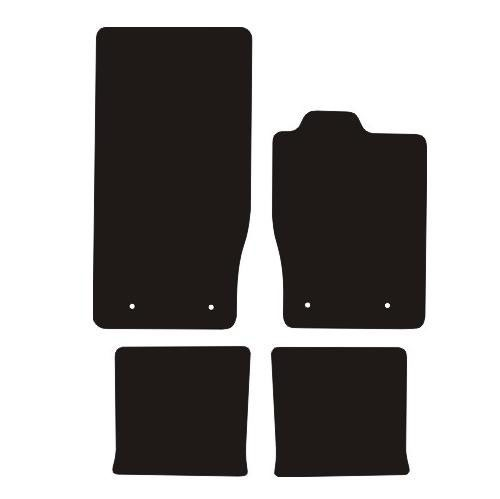 Jaguar XK Coupe 2006 - Onwards Fitted Car Floor Mats product image