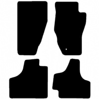 Jeep Cherokee (KK) 2008 - 2013 Fitted Car Floor Mats product image