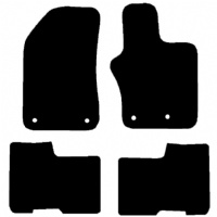 Jeep Renegade (BU) 2014 Onwards Fitted Car Floor Mats product image