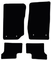 Jeep Wrangler 2006 - 2018 (2 Door) Fitted Car Floor Mats product image