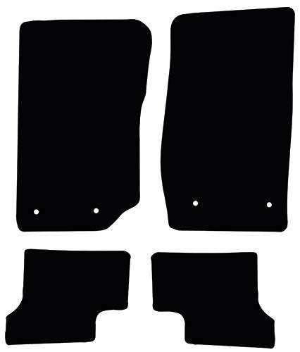 Jeep Wrangler 2006 - 2018 (2 Door) Fitted Car Floor Mats product image