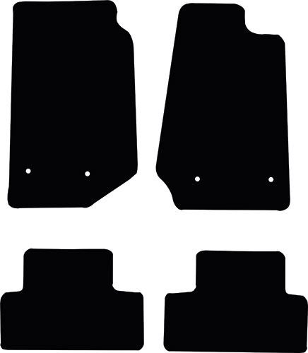Jeep Wrangler 2014 - Onwards (Limited Edition) Floor Mats product image
