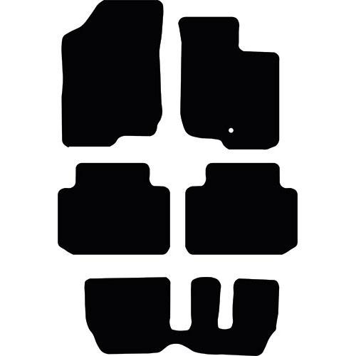 Kia Carens 2007 - 2013 (Manual)(MK2) Fitted Car Floor Mats product image