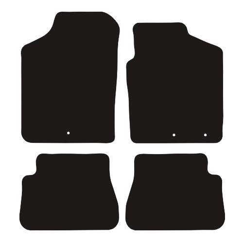Kia Picanto MK1 (SA; 2009 to 2011) (Twin Locators) Fitted Car Floor Mats product image