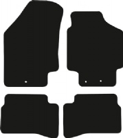 Kia Rio 2006 - 2012 (MK2) Fitted Car Floor Mats product image