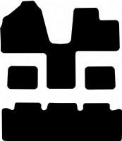 Kia Sedona 2006 - 2014 Fitted Car Floor Mats product image