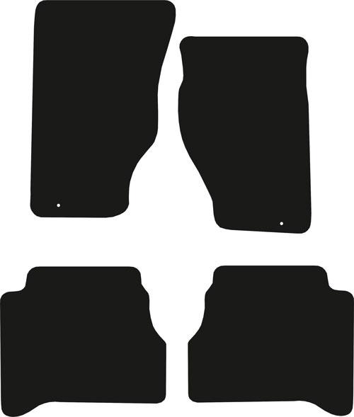 Kia Sorento 2003 - 2010 (MK1))(Single Locator) Fitted Car Floor Mats product image