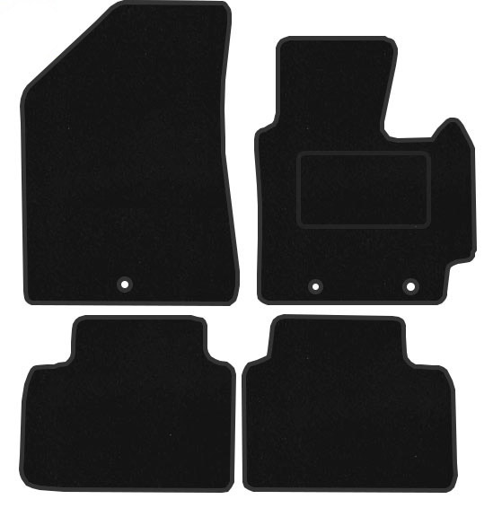 Kia Soul MK2 2014 Onwards Fitted Car Floor Mats Product Image (click To  Enlarge)