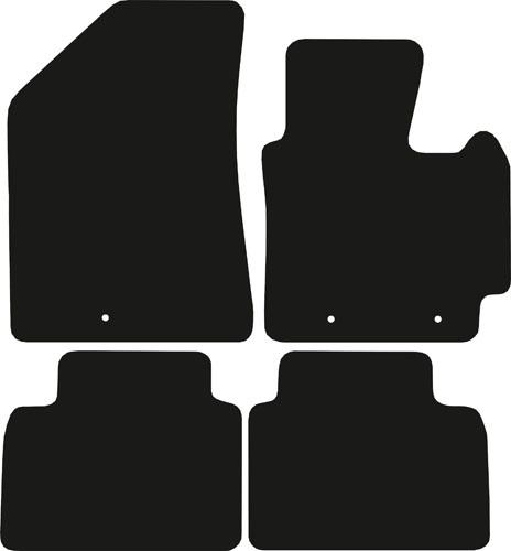 Kia Soul 2014 - 2019 (MK2) Fitted Car Floor Mats product image