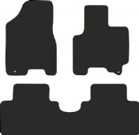 Kia Sportage 2008 - 2010 (Two Locators) Fitted Car Floor Mats product image