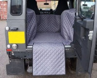 Land Rover Defender 90 SWB 2007 - 2020 Quilted Waterproof Boot Liner