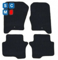 Land Rover Discovery 4 2009 to 2016 Fitted Car Floor Mats product image