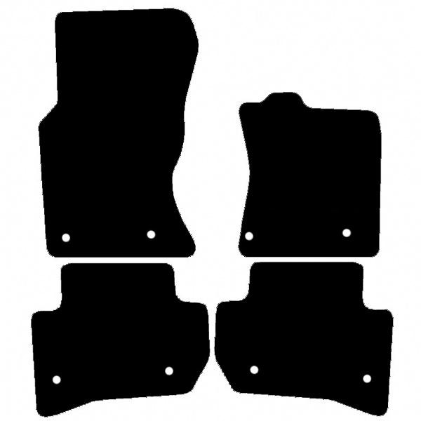 Range Rover Clic Rubber Floor Mats - Carpet Vidalondon