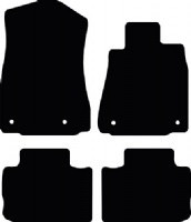Lexus IS 2013 - Onwards (XE30) Fitted Car Floor Mats product image