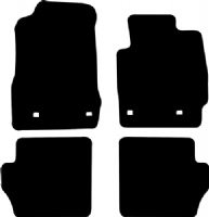 Mazda 2 2007 - 2014 (4 locators)(DE) Fitted Car Floor Mats product image