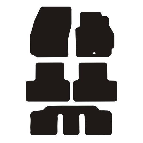 Mazda 5 2005 - 2010 (Single locator type) Fitted Car Floor Mats product image