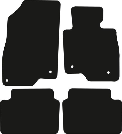 Mazda 6 Estate 2012 - Onwards (312mm Locators)(MK3) Floor Mats product image