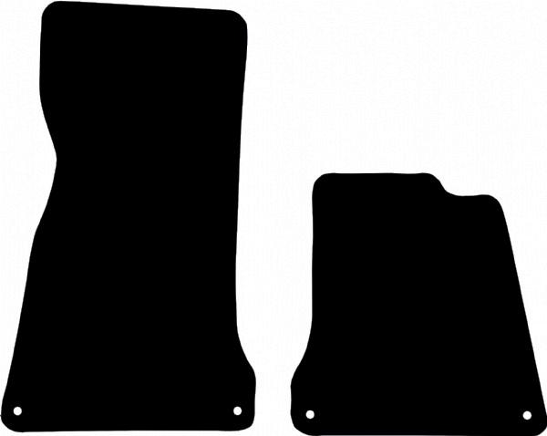 McLaren 12C Fitted Floor Mats product image