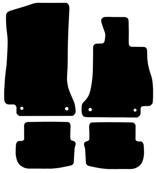 Mercedes C Class Convertible 2016 - Onwards (A205)(Manual) Fitted Car Floor Mats product image