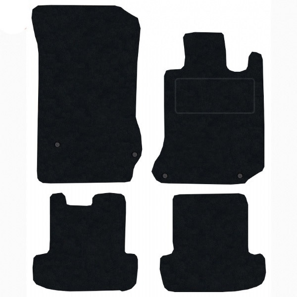 Mercedes C Class Coupe 2011 - 2015 (W204)(4x Locators)(Auto) Fitted Car Floor Mats product image