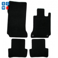 Mercedes C Class Saloon 2007 - 2014 (W204) (AUTO) Fitted Car Floor Mats product image