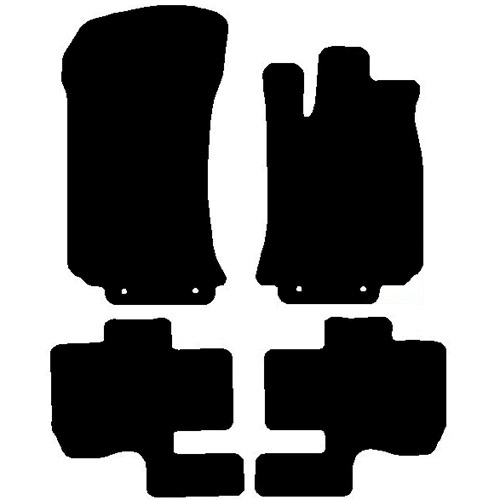 Mercedes R Class 2006 - Onwards  (SWB)(V251) Fitted Car Floor Mats  product image