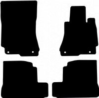 Mercedes S Class Saloon 2006 - 2013 (V221)(LWB) Fitted Car Floor Mats product image