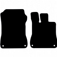 Mercedes SL 2012 - Onwards (R231) Fitted Car Floor Mats product image