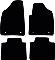 MG HS (2019 onwards) Manual Fitted Car Floor Mats product image