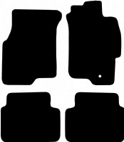 MG ZS (2001 - 2005) Fitted Car Floor Mats product image
