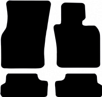 Mini Convertible (2016 onwards) (F57) (2x Velcro) Fitted Floor Mats product image