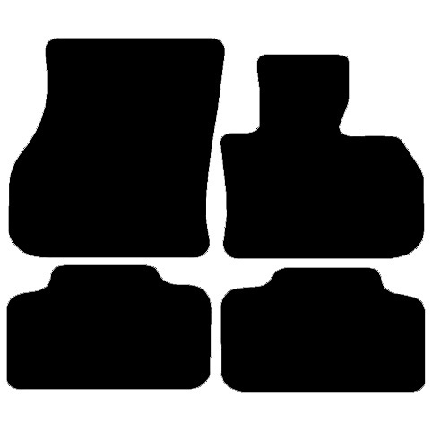 Mini Countryman (2017 onwards) (F60) (4x Velcro) Fitted Floor Mats product image