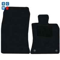 Mini Coupe 2012 Onwards (R58) (2x Velcro) Fitted Car Floor Mats product image