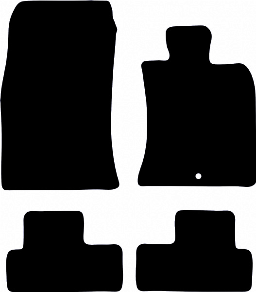 Mini Hatch (2006 - 2014) R56 (Single Locator) Fitted Floor Mats product image