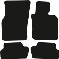 Mini Hatch (2014 Onwards) F56 (3 Door) (2x Velcro) Fitted Car Floor Mats product image