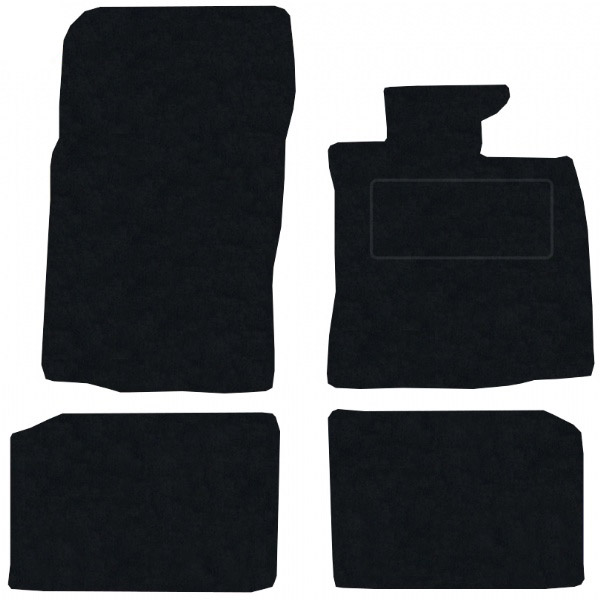 Mini Paceman 2012 onwards (R61) (4x velcro) Fitted Floor Mats product image